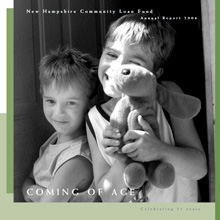 Cover of the New Hampshire Community Loan Fund's 2004 annual report
