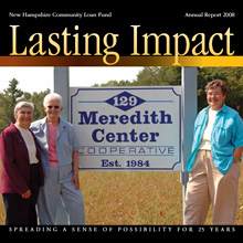 Cover of the New Hampshire Community Loan Fund's 2008 annual report