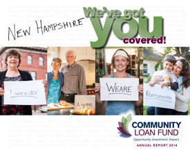 Cover of the New Hampshire Community Loan Fund's 2014 annual report