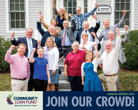 Cover of the New Hampshire Community Loan Fund's 2015 annual report
