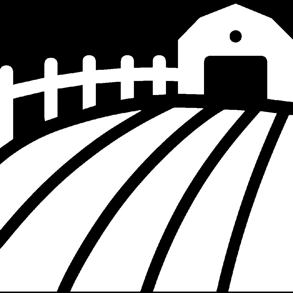 farm icon white