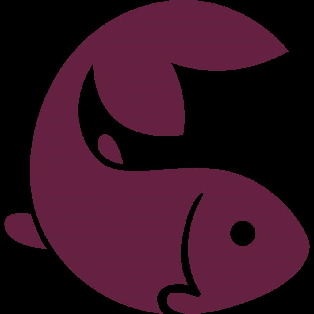 fishery icon maroon