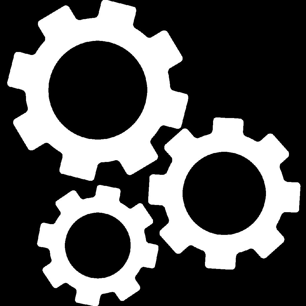 Machinery and Equipment icon white