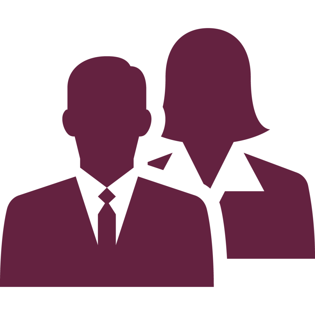 professional service businesses icon maroon