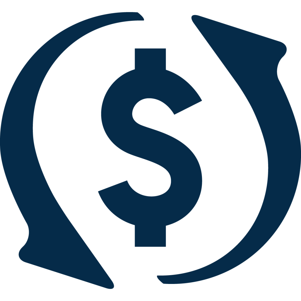 working capital icon blue