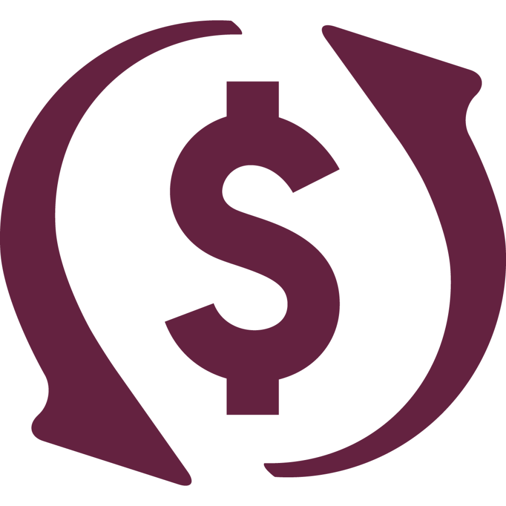 working capital icon maroon