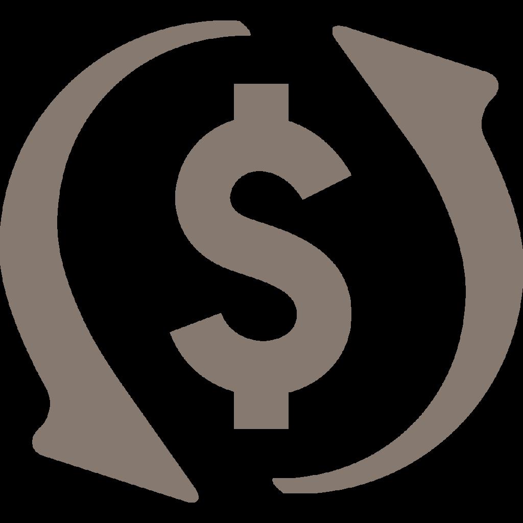 working capital icon warm gray