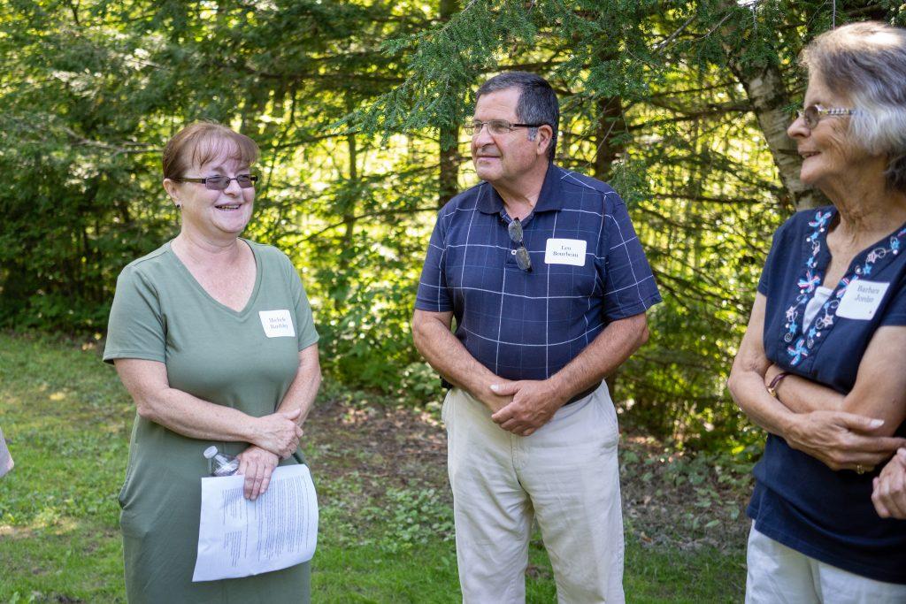 Three members of the Rock Rimmon Cooperative board of directors