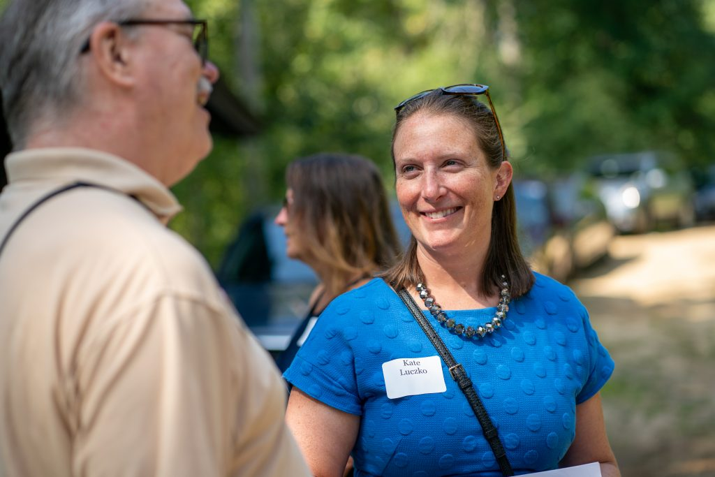 New Hampshire Community Loan Fund board member Kate Luczko