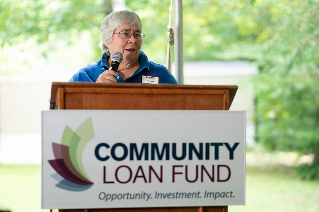New Hampshire Community Loan Fund President Juliana Eades