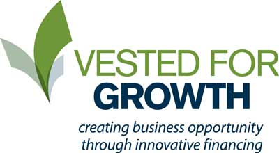 Vested for Growth color logo