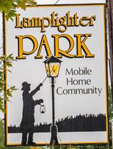 Lamplighter Park sign