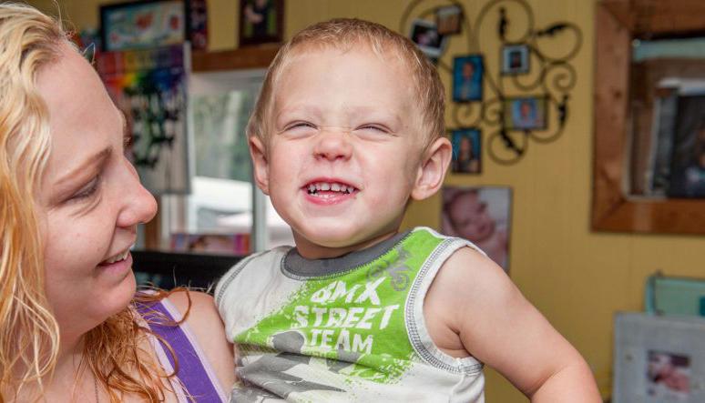 smiley kid