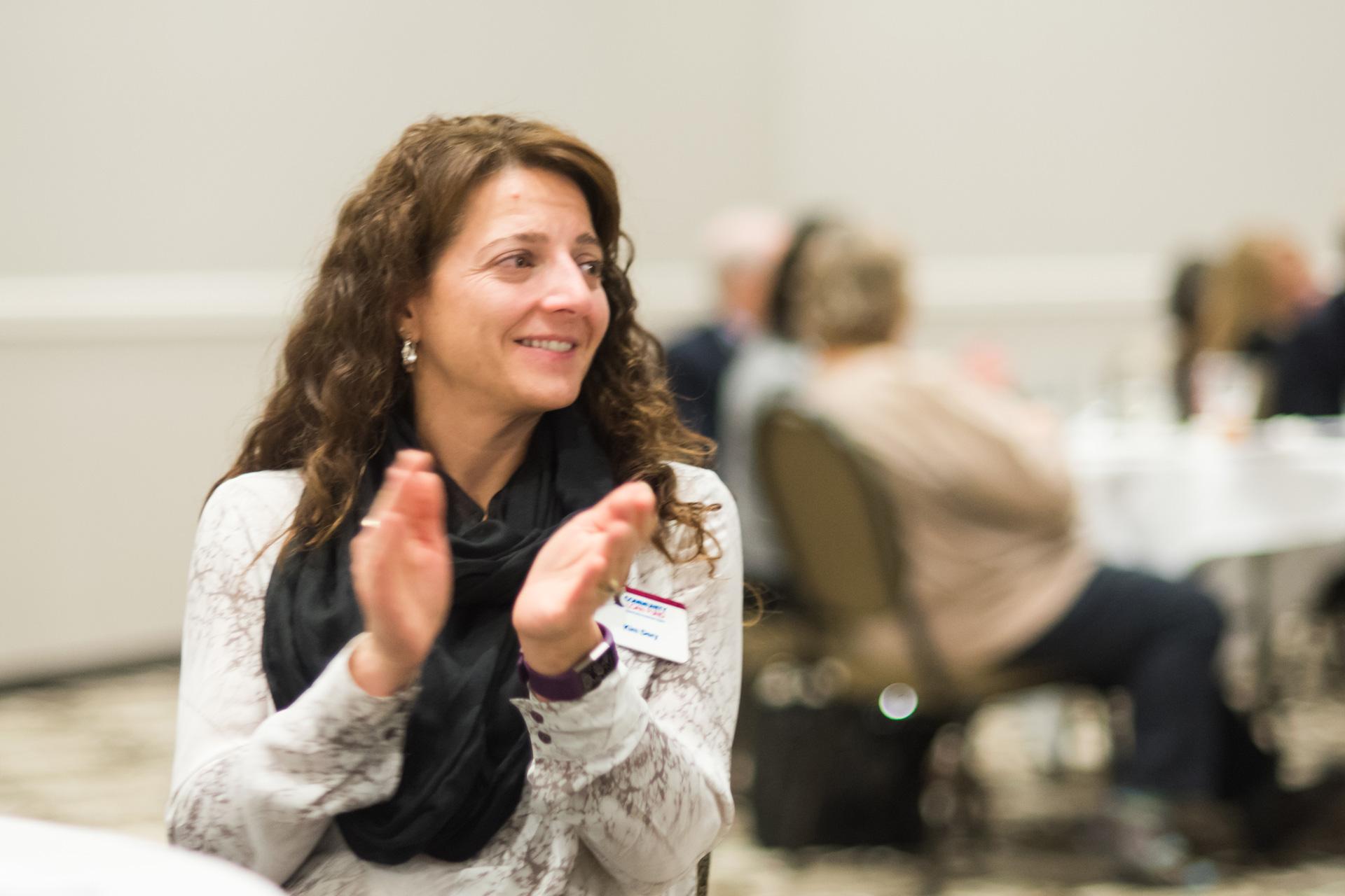 Community Loan Fund staffer Kim Dery