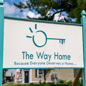 The Way Home's outdoor sign