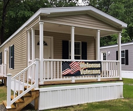 A custom-built home for veterans at Rock Rimmon Cooperative