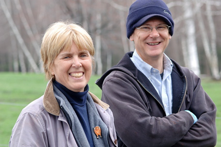 The husband-and-wife owners of Miles Smith Farm