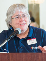 Community Loan Fund president Juliana Eades retired at the end of June.