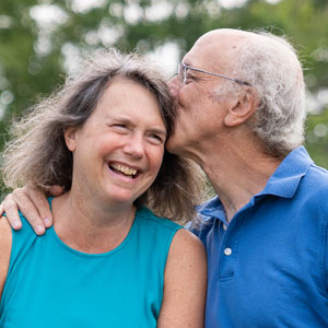 Becky and Bruce Berk made a 0% investment to help their neighbors through the pandemic.